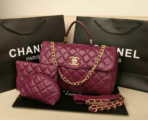 Tas Chanel log kelly set 3in1 #2908