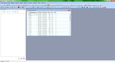 Tampilan Tabel Excel Di Mapinfo