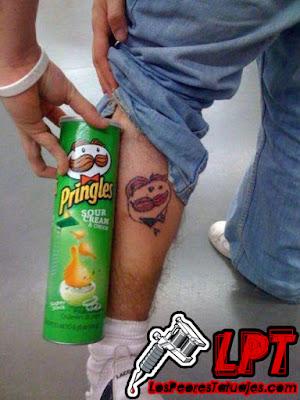 Tatuaje FAIL : Pringles