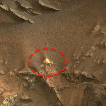 Huge Pieces Of Gold Found On Mars 2015, UFO Sightings