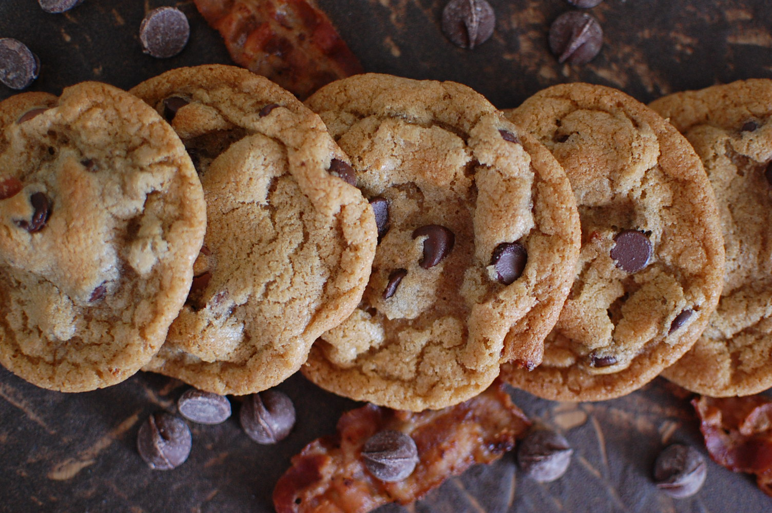 Food, Fun & Life: Bacon Chocolate Chip Cookies