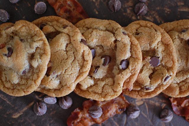 Food, Fun & Life: Bacon Chocolate Chip Cookies