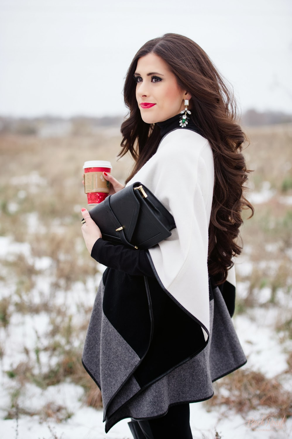 the sweetest thing blog, www.thesweetestthingblog, emily gemma, dallas wedding photographers, dallas photographers, fashion blog, backroad photography, ann taylor, cape, over the knee boots, sole society, forever 21, michael kors runway watch, jcrew bracelet, jcrew, starbucks