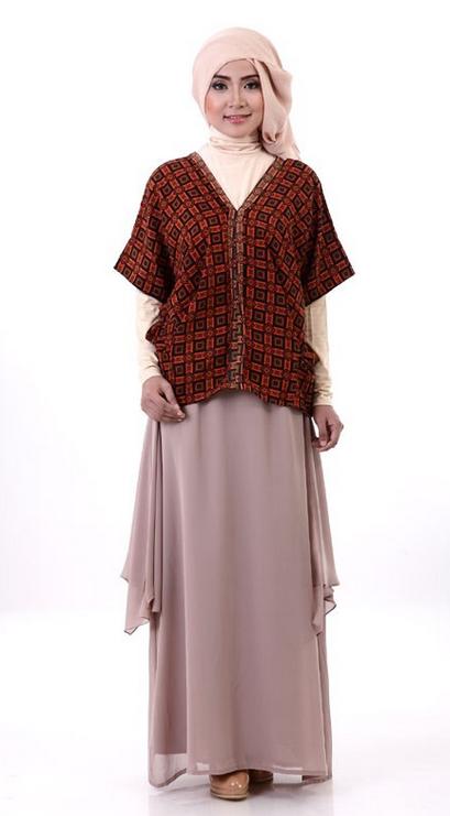 Toko Busana Muslim Gambar Model Baju Batik Muslim Terbaru