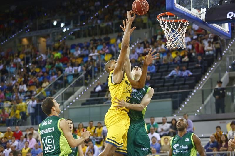 Gran Canaria gana a Unicaja y fuerza el tercer partido