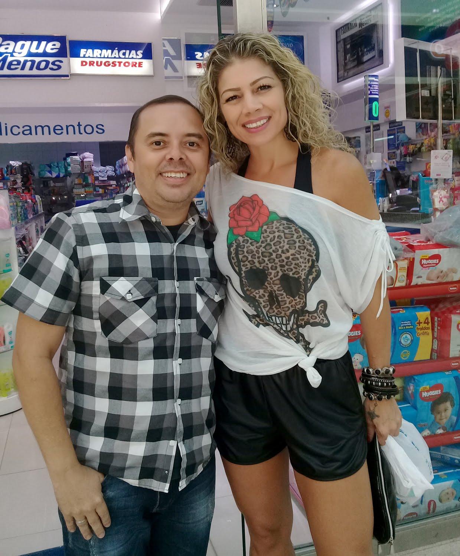 Com a Catia Paganote (Miúxa) do Xou da Xuxa