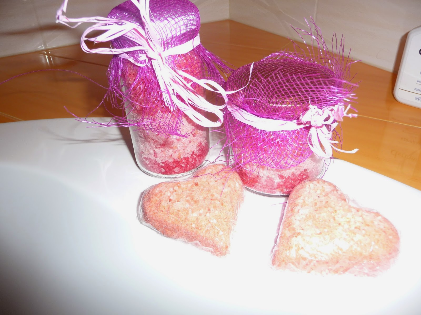 home made bath cosmetics
