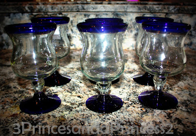 Hand blown Glasses