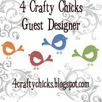 4 Crafty Chicks Guest Designer August 2015 & February 2016