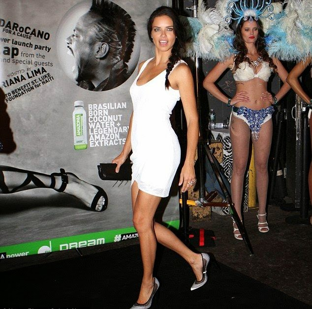 The 32-year-old showed off her stunning figure to perfection on the Amazonia Beverages Coconut Water Campaign in New York City, USA on Saturday, May 31, 2014.