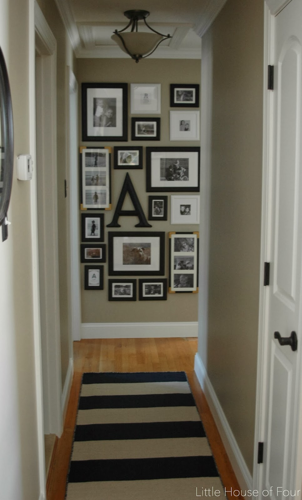 New Hallway Light update | Little House of Four - Creating ...