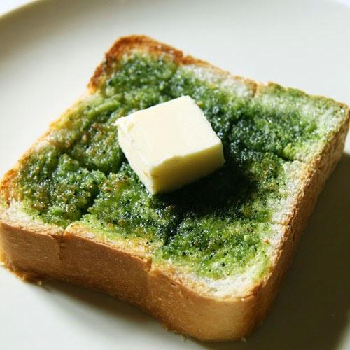 matcha toast