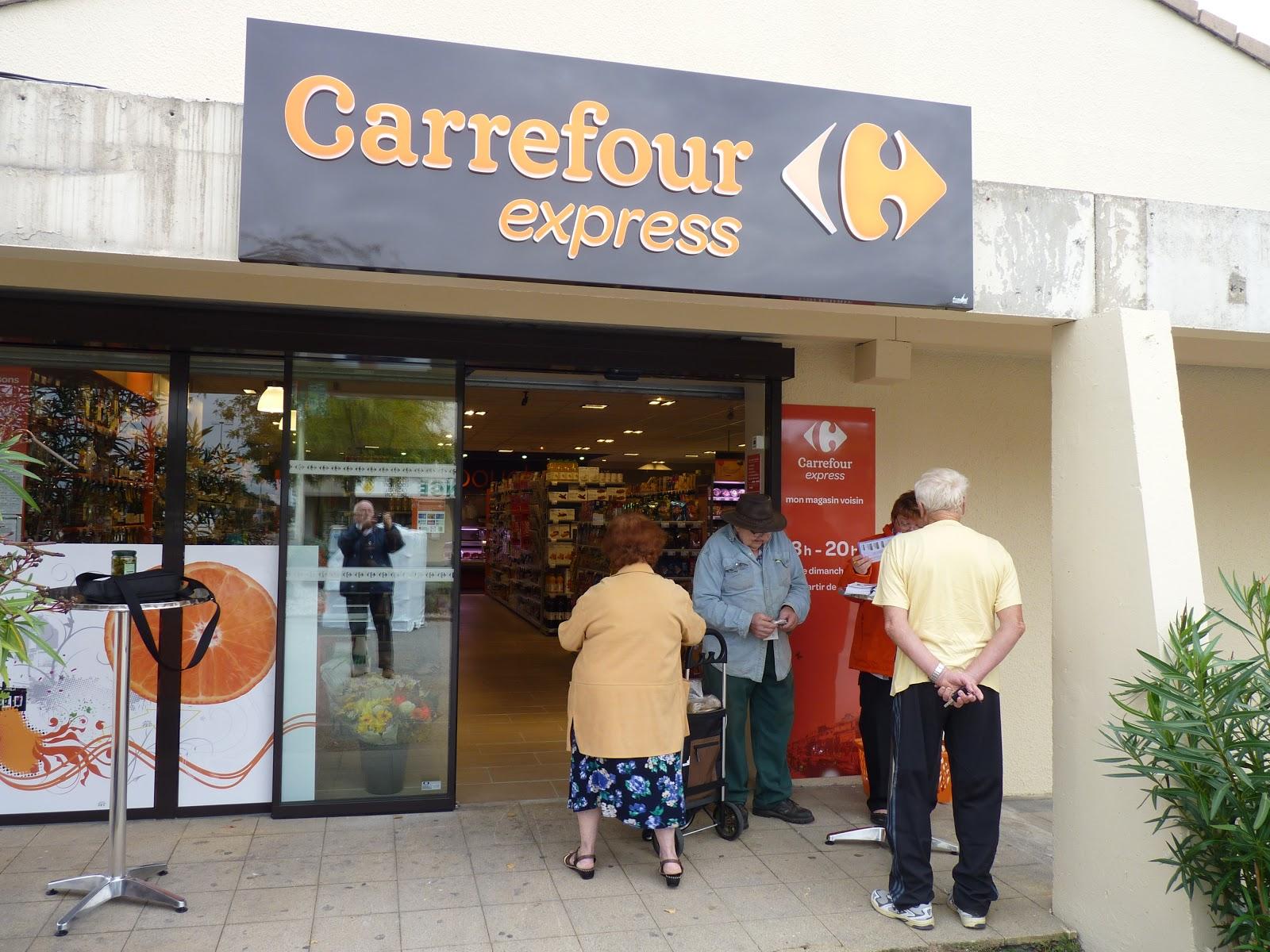 Au coeur de st marcel carrefour express a ouvert ses - Carrefour porte de montreuil horaires ...
