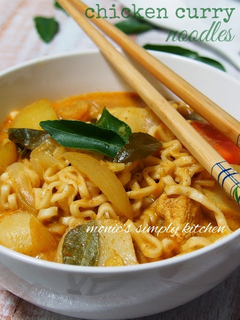 chicken curry noodles