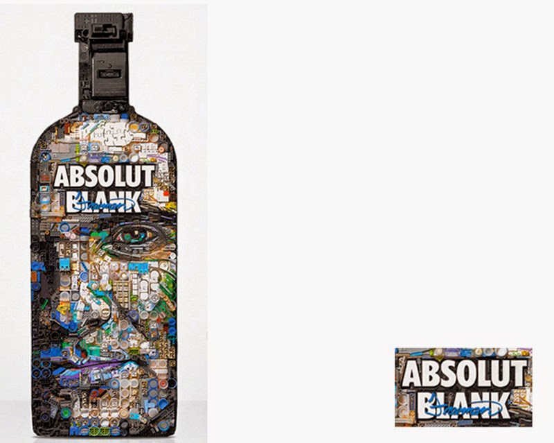 Zac Freeman, Absolut Blank Vodka
