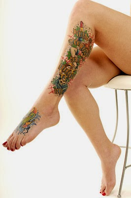 Lovely Lollie's tattoos