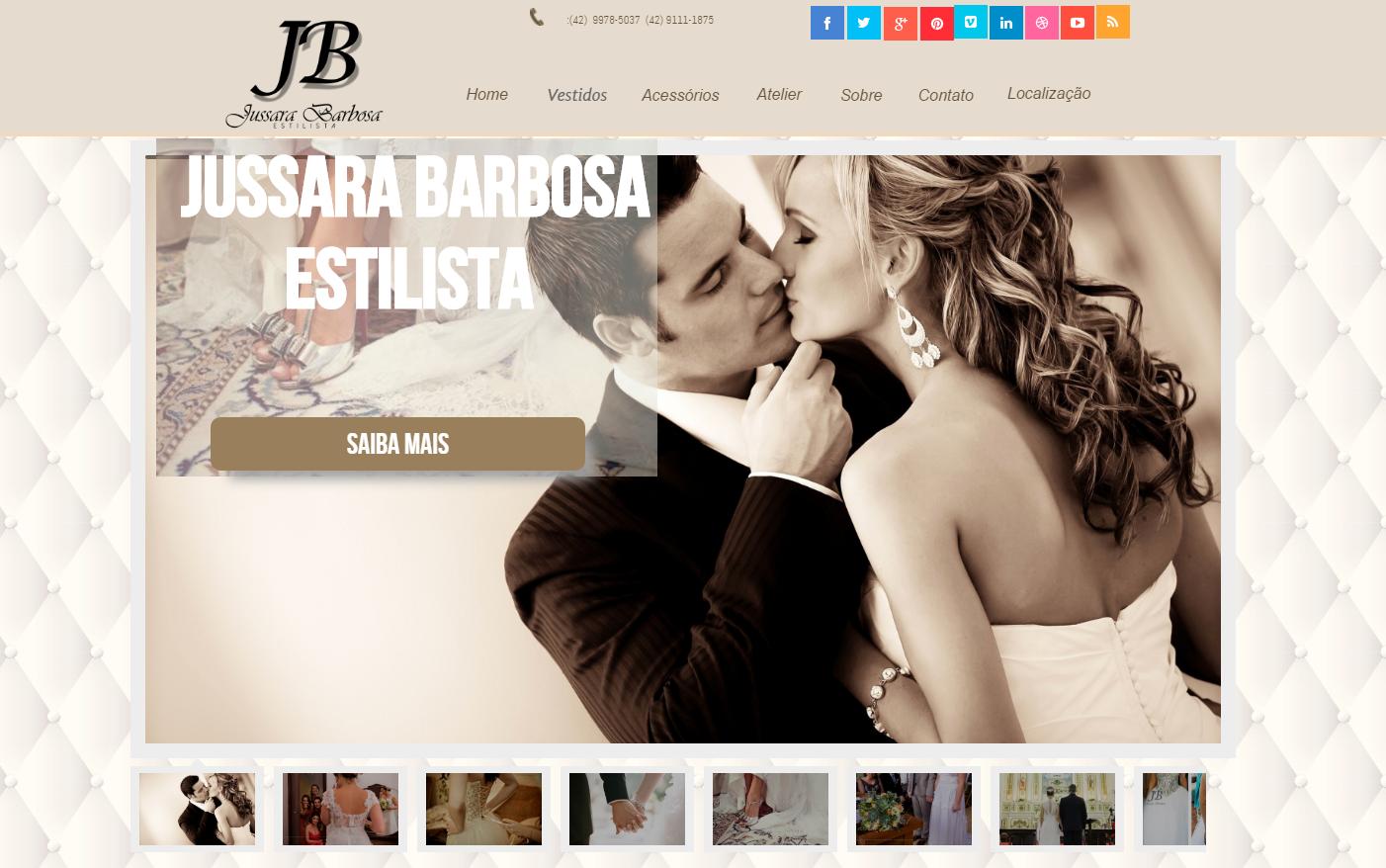 Site - Jussara Barbosa Estilista