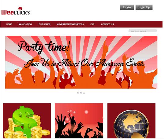 Jemputan sertai Weeclicks Network Sdn Bhd