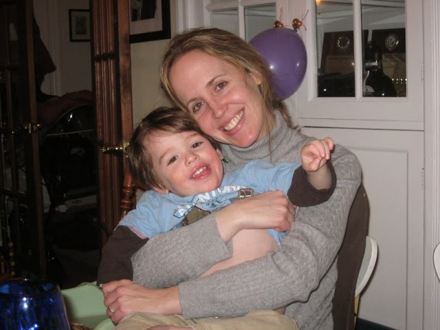 Maxie and me (before he got so big!).