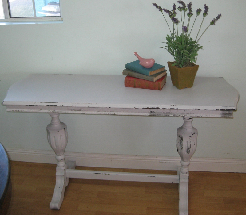Funky Foyer Furniture : Ms funky junk antique sofa entryway table