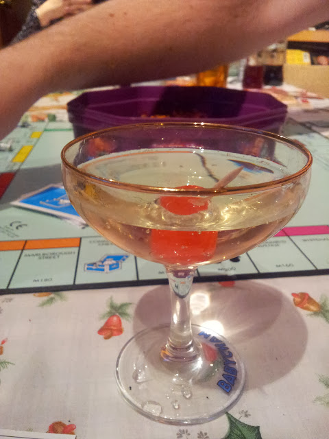 Christmas 2013 Babycham Cocktail Cherry Monopoly Game