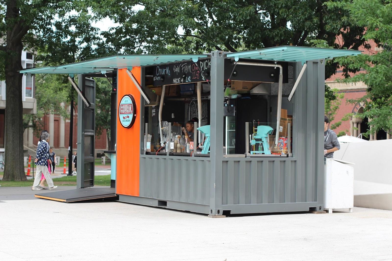 Liquid container truck fa fo fi churn2 liquid nitrogen ice cream
