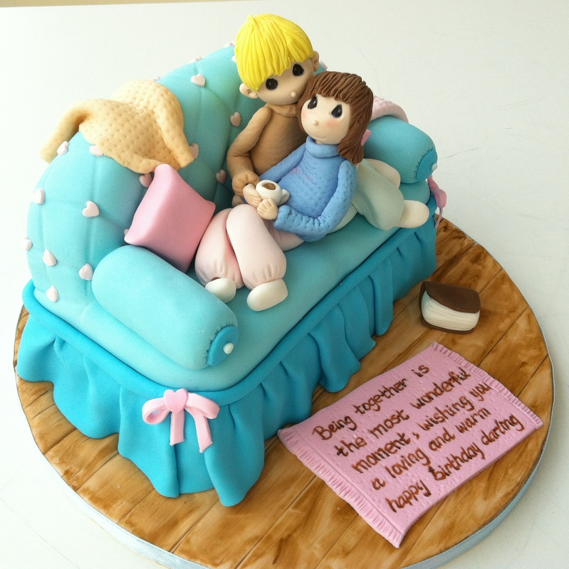 Tearoom By Bel Jee Sofa Cake