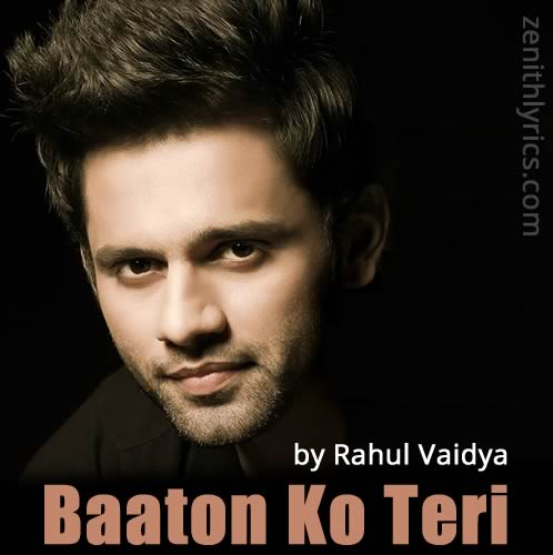 Baaton Ko Teri Unplugged Lyrics - All Is Well