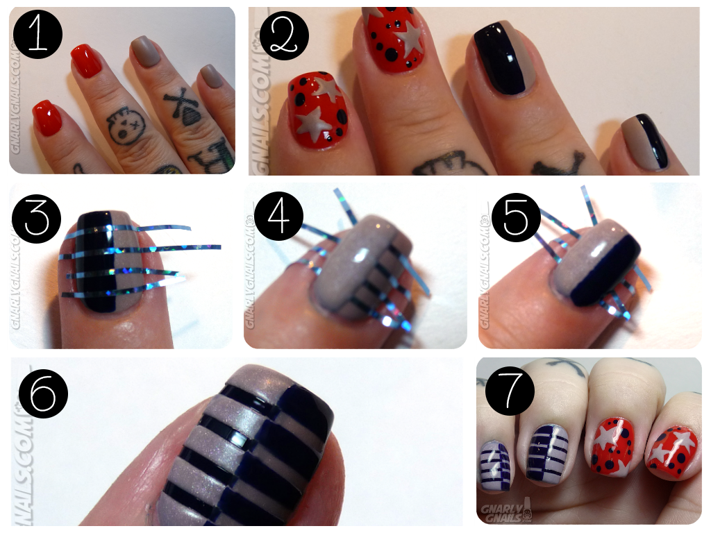Using Striping Tape - How To...Using Striping Tape Easy Nail Art