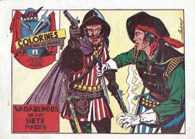 Imagen de El Temible Pirata Nº 2-Ediciones Grafidea