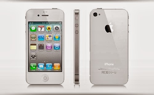 HARGA APPLE iPhone 4 8GB - White