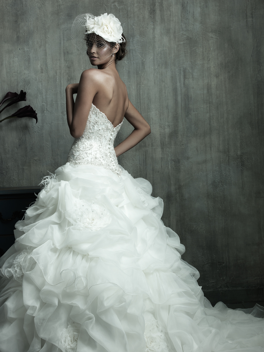 Wedding Dresses Trends 2013 Feather Wedding Dresses | The Hairs