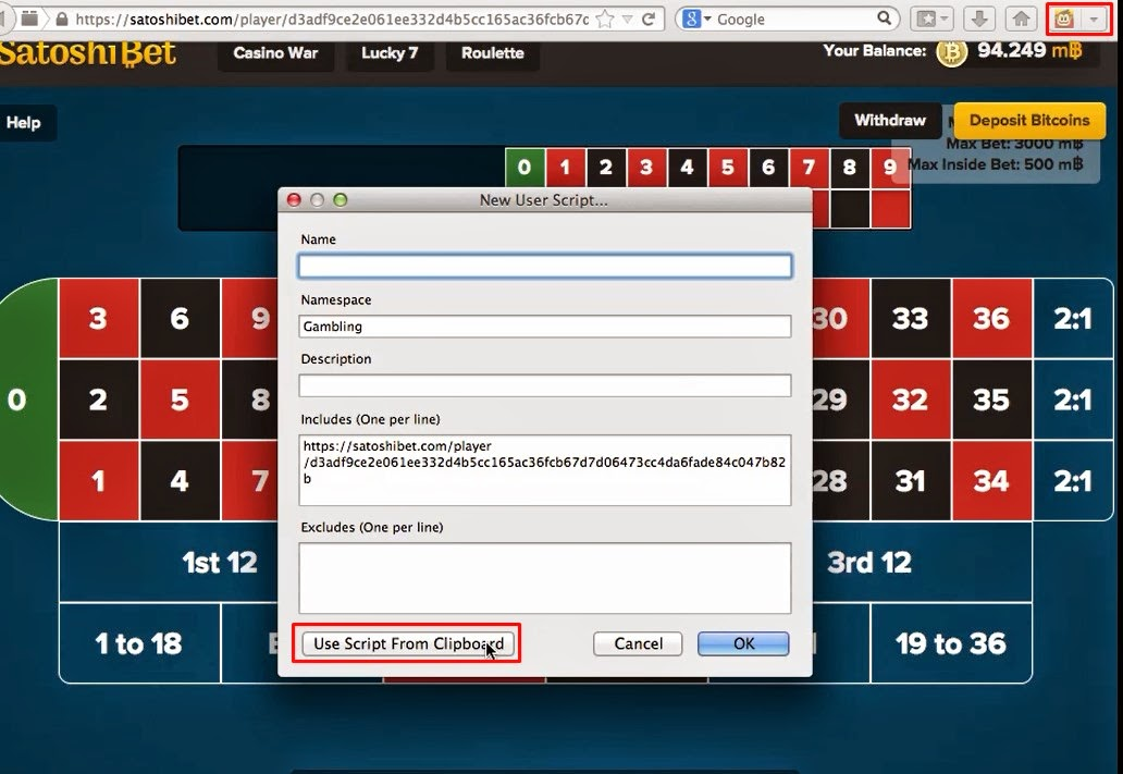 make btc by autobet using satoshibetbot