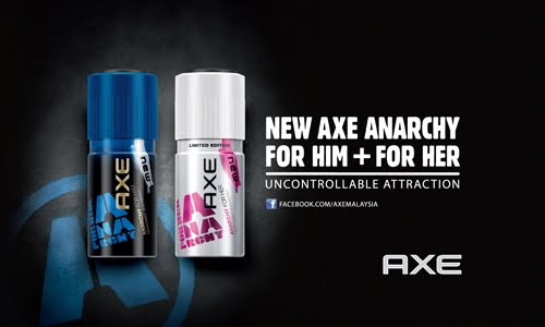 axe anarchy deodorant