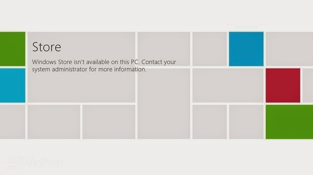 Tips Mematikan Windows Store pada Windows 8