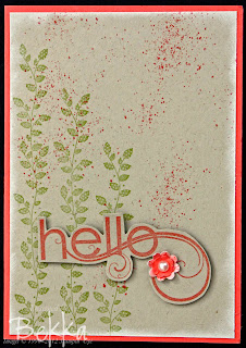 Hello, Borderlines Stamp Set