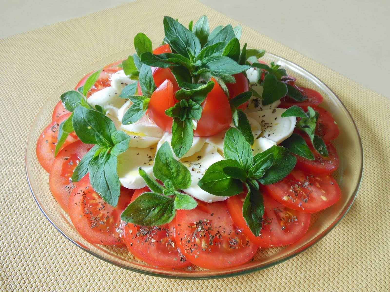 Salát Capresse