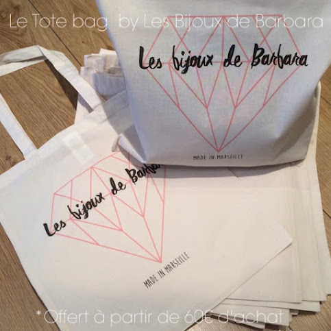 Le Tote Bag by Les Bijoux de Barbara - made in Marseille