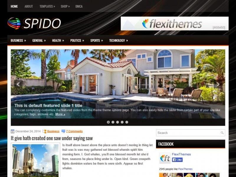 Spido - Free Wordpress Theme