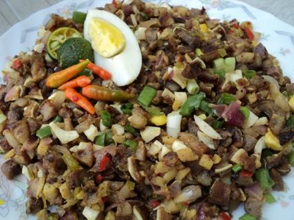 easy spicy sisig recipe