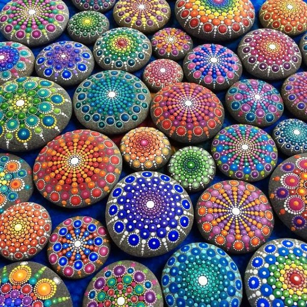 colorful ocean stones Elspeth McLean-6