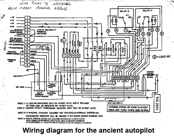 the saga of the vessel circadian may 2, 2011 Century 1 Autopilot Repair at Century 4 Autopilot Wiring Diagram