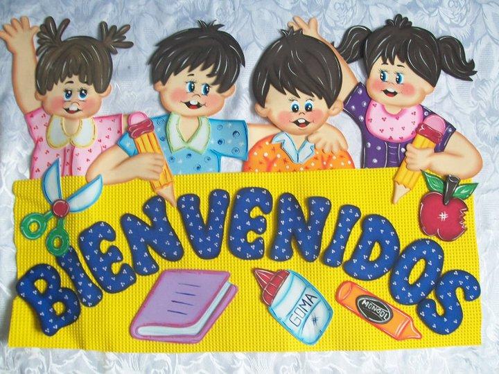 Mi Escuela Divertida: Carteles de Bienvenidos para el aula de clase