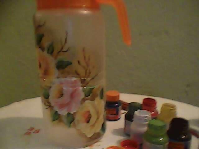 Suely pinturas passo a passo de pintura em pl stico veja mais na postagem anterior mais - Pintura para plastico ...