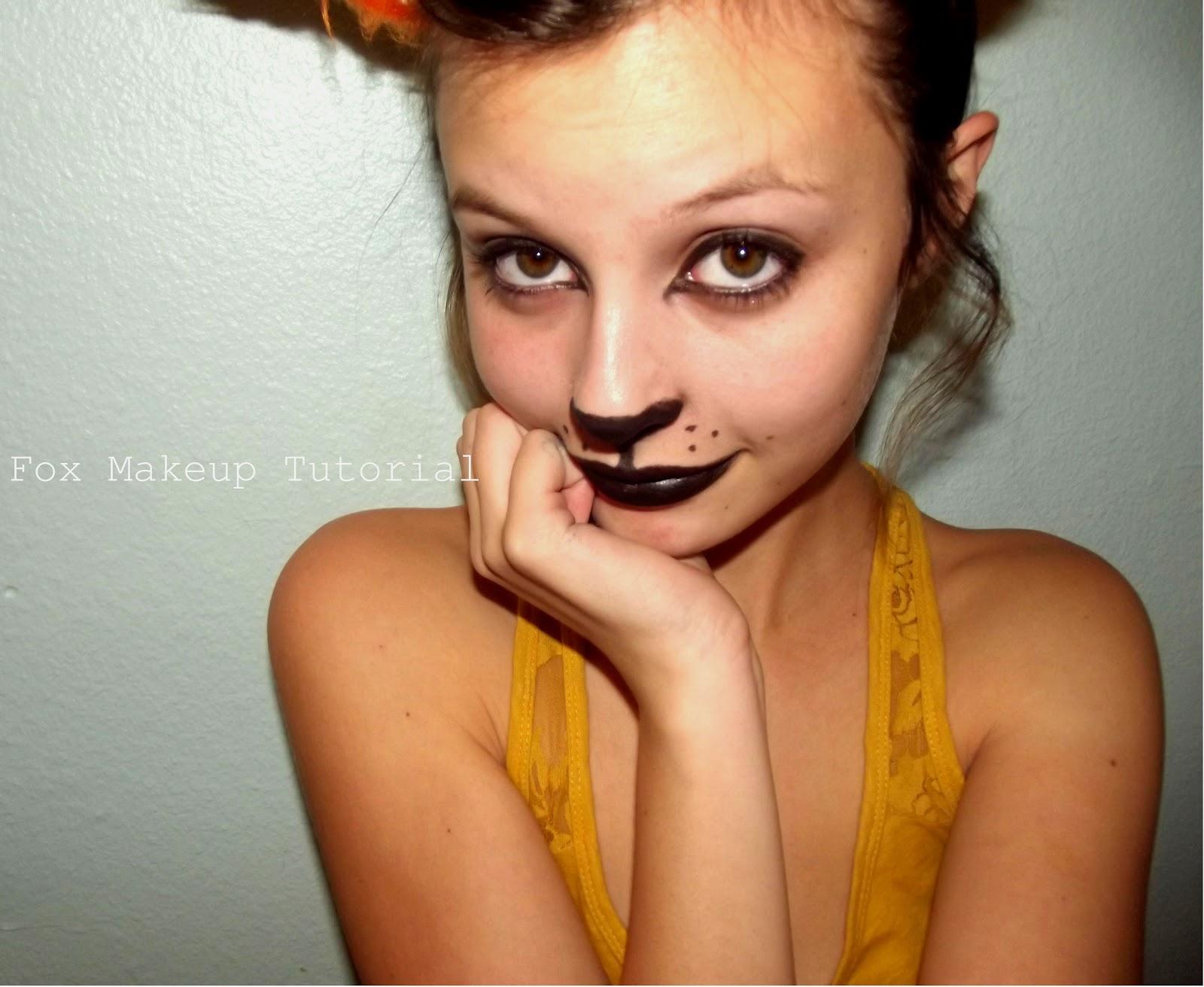 Crossthestreet Fox Makeup Tutorial - Fox-makeup