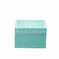 Pudełko (jasny zielony) Bloomingville