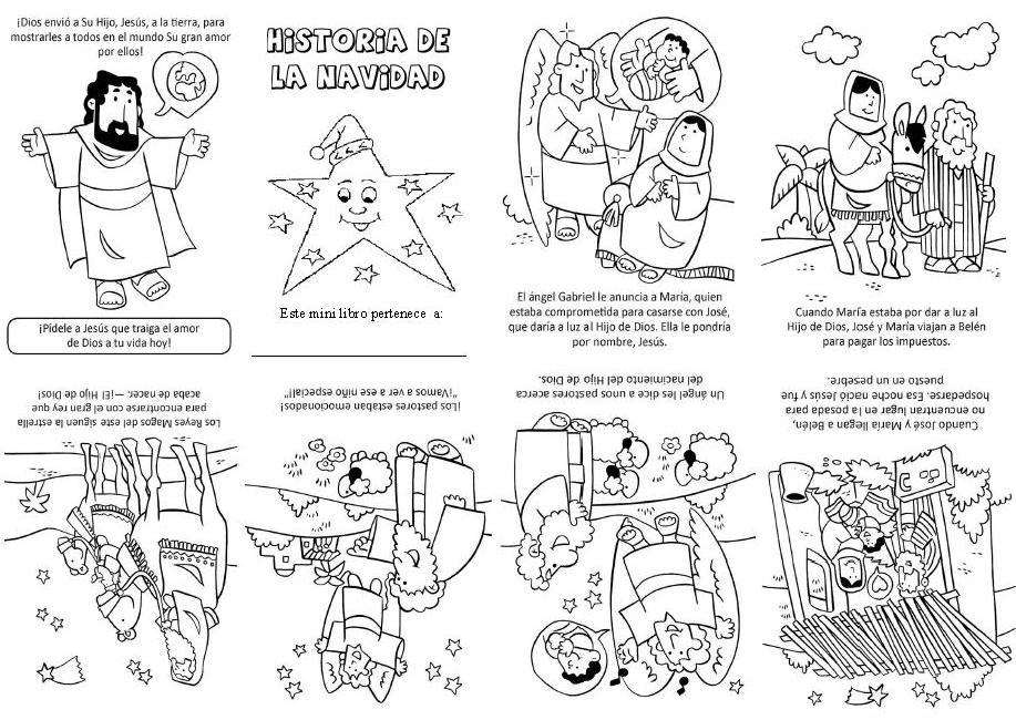 Blog para una Navidad Feliz: Minilibro de la Historia de la Navidad ...