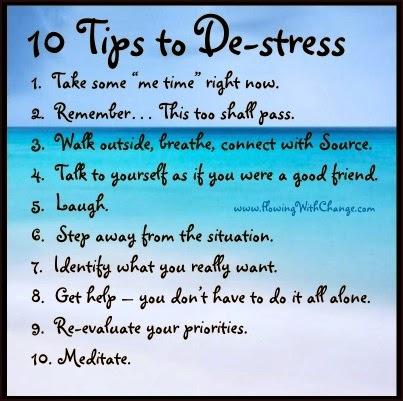 de-stress
