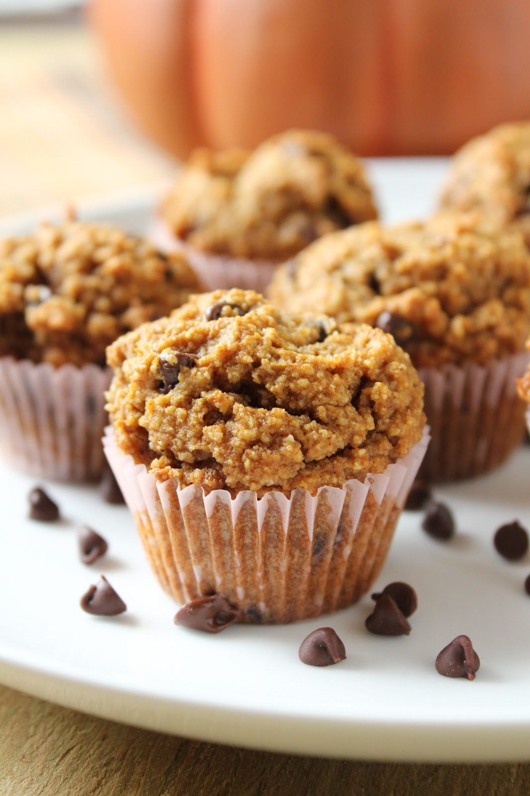 Delicious as it Looks: Mini Chocolate Chip Pumpkin Muffins (Made ...
