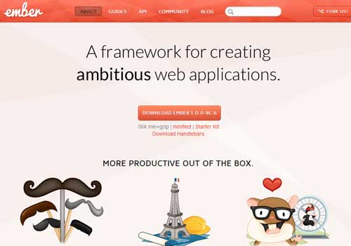 Ember ~ 43 Useful and Time Saving Web Development Kits and Frameworks
